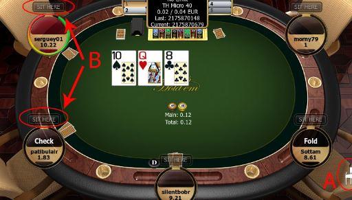 pindah tempat duduk atau meja taruhan poker
